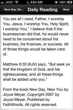 """Day 16 (daily devotion part 3 of 3): Matthew 6:33 (KJV) says, """"But seek ye first the kingdom of God, and his righteousness; and all these things shall be added unto you."""""""