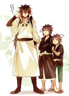 Indra, Madara, and Izuna!