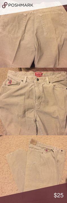 Men's Chaps Corduroy Pants 34X32 $12 Men's Chaps Cords 34X32 Like New $12 Chaps Pants Corduroy
