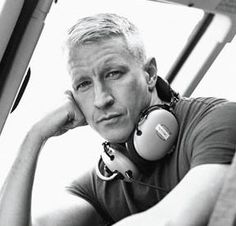 When Anderson Cooper guested on the Late Night Show with these are the few things he said: had food, nobody had water died, people died of broken legs that got. Anderson Cooper, Gorgeous Men, Beautiful People, Tito Jackson, Raining Men, Gloria Vanderbilt, Look At You, Famous Faces, Celebrity Crush