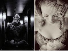 Vintage Wedding Gray Ruffled Dress