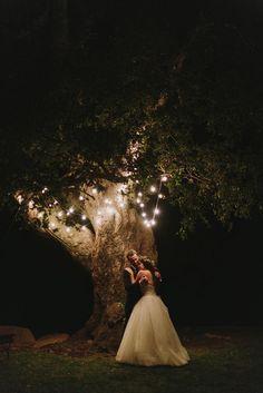 the secret garden wedding inspiration | romantic fairytale lighting | wedding photo ideas | v/ huffington post |