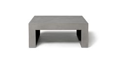DAWN- Square Coffee Table by LYON BETON made in France on CROWDYHOUSE