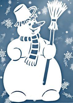 Фотографии Вытынанки шаблоны трафареты снежинки Christmas Crafts, Christmas Ornaments, New Years Decorations, Christmas Settings, Snowman, Decoupage, Diy And Crafts, Templates, Drawing