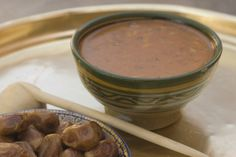 Harira is a famous Moroccan soup that's especially popular in Ramadan. This classic recipe uses fresh tomatoes, chickpeas, and lentils.
