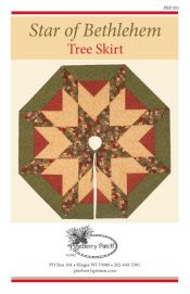 Table Runner Quilt Patterns   Wall Hanging Simple Quilt Designs   Tree Skirt Quilt Patterns For Sale   Pineberry Patch - Quality Quilt Patterns