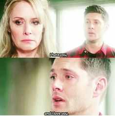 So I cried and also notices his accent comes out in these kinds of scenes.