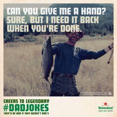 #Heineken Legendary Dad Jokes   Pop The Campaign