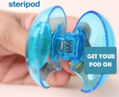 Keep your #toothbrush #clean & #fresh with #steripod.