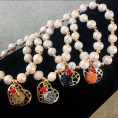 Bracelets By Vila Veloni Pearl Obsession