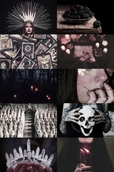 queen of the witches aesthetic