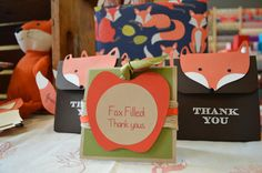 Sweet & Petite Party Designs, By:Lanissa Youngquist; Fall Fox Hole 1st Birthday Party; Bellevue, Wa