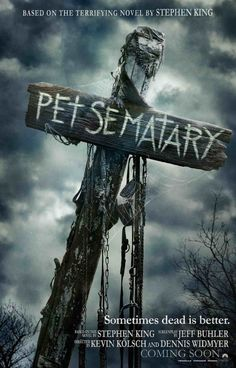 High resolution official theatrical movie poster ( of for Pet Sematary Image dimensions: 1200 x Starring Jason Clarke, Amy Seimetz, John Lithgow All Movies, Movies 2019, Scary Movies, Horror Movies, Movies Online, Movies And Tv Shows, Movie Tv, Imdb Movies, Pet Sematary