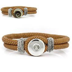 1 Bracelet Café Bouton pression métal : Supports Bracelets par creationstyle