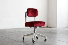 1960s Armless Task Chair by Steelcase Refinished by RehabVintageLA