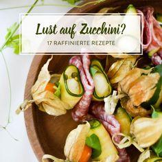 Als Suppe oder Salat. Als Pasta oder Pizza. Zucchini schmeckt süß und herzhaft. Und ist auch als Low-Carb-Gericht ein gern gesehener Gast.