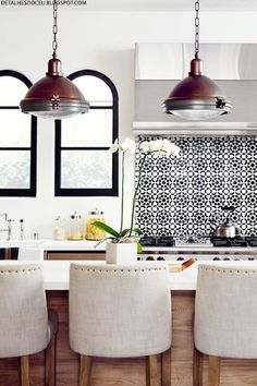 Make A Statement With Your Splashback | sheerluxe.com
