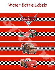 Resultado de imagen para free printable disney cars birthday party