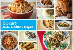 Low Carb Crockpot Recipes - 20+ recipes, all low carb, all delicious and family friendly