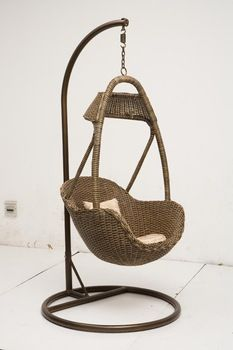 Basket Rattan Chair Wicker Hanging Swing Chair With Competitive Price