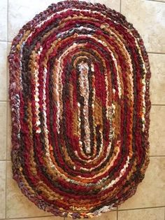 Tablecloth Rag Rug