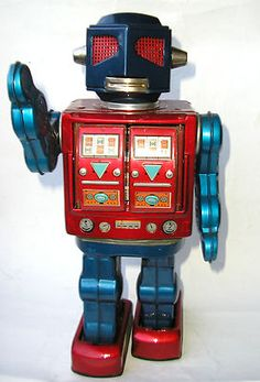 Vintage original 1960s HORIKAWA ATTACK ROBOT.( This is the Robot toy my Brother had.)
