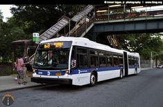 (New York MTA) 2012 Nova Bus LFS Artic Low Floor #5919 by tloganjr, via Flickr