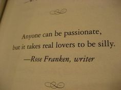 anyone can be passionate ..