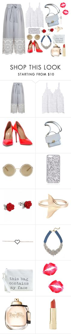 """""""baby feel crazy"""" by megi-queen on Polyvore featuring Zimmermann, Casadei, Dolce&Gabbana and BaubleBar"""