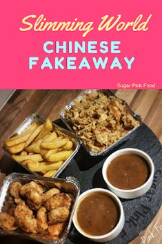 Slimming World Fakeaway Recipe Chinese Chicken Balls Chips Egg Fried Rice & Curry Sauce! Amazing syn free dinner The post Slimming World Fakeaway Recipe Chinese Chicken Balls Chips Egg Fried Rice & C appeared first on Recipes. Slimming World Fakeaway, Slimming World Dinners, Slimming World Chicken Recipes, Slimming World Diet, Slimming Eats, Slimming Recipes, Slimming World Chicken Fried Rice, Slimming World Curry Sauce, Fake Away Slimming World