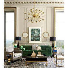Casa Art Deco, Arte Art Deco, Estilo Art Deco, Art Deco Stil, Art Deco Home, Art Deco Decor, Modern Art Deco, Art Deco Living Room, Living Room Green