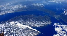 10) We're smack in the middle of the Great Lakes - the largest fresh water source in the world.