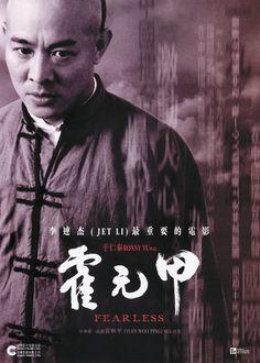 O Mestre das Armas (Huo Yuanjia - 2006) Dir: Ronny Yu. Huo Yuanjia viveu de 1867 a 1910. Desde criança aficcionado por lutas, fundou uma das principais escolas de artes marciais de Shangai. Tornou-se herói e lenda na China, principalmente por desafiar - e vencer - lutadores estrangeiros numa época em que os chineses eram considerados a escória da Ásia. No filme, Jet Li é Huo, e sem dublê, mostra toda a sua arte ao lutar com lança, espada e tchaco.