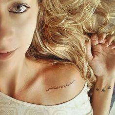 """Foto linda da <a href=""""http://instagram.com/carolmilani2"""">@carolmilani2</a> ❤ MERAKI (do grego) – Fazer algo com alma, criatividade ou amor. Para aparecer aos sábados no tattoo2me, use =) Hashtag para tatuados ❤️"""