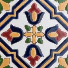 mayolicas ceramicos artesanales Talavera Pottery, Ceramic Pottery, Clay Tiles, Mosaic Tiles, Art Nouveau, Mexican Pattern, Art Populaire, Tile Art, Ceramic Painting