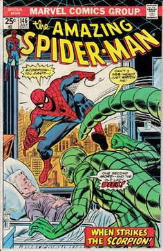 The Amazing Spider-Man #146 July 1975