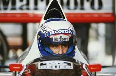 Alain Prost...Honda Marlboro McLaren...GP Brasil 1989