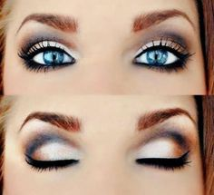 Makeup for Blue Eyes Trend Summer 2015
