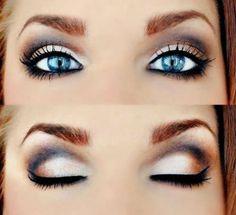 Makeup for Blue Eyes Trend Summer 2015