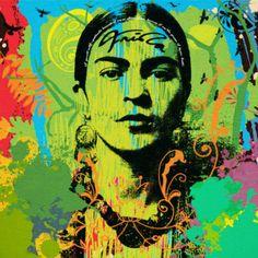Frida Kahlo Pop Art Serie NO.10