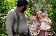 Image result for twd inmates tyreese sees carol with the girls approach