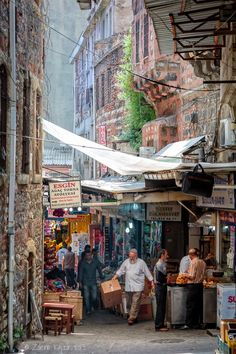Atmosphere of Old Istanbul by Zdeno Kajzr / The Places Youll Go, Places Around The World, Places To Go, Around The Worlds, Istanbul Market, Istanbul Travel, Bagdad, Turkish Art, Alleyway
