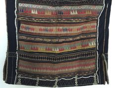 875 Vintage Akha Tunic Jacket with Superb Embroidery - WOVENSOULS