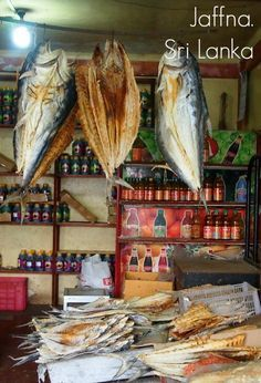 Dried fish for sale   Mein Blog >> #tumblr