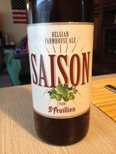 Bière belge, blonde non filtrée