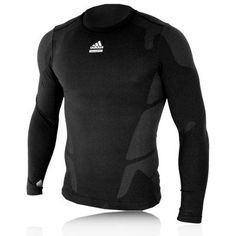 Adidas Techfit Preparation Compression Long Sleeve Top maybe fathers day gift?