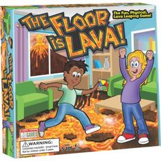The Floor is Lava - Interactive Game for Kids and Adults - Promotes Physical Activity - Indoor and Outdoor Safe Family Games Indoor, Indoor Activities For Kids, Indoor Games, Physical Activities, Kids Party Games Indoor, Babysitting Activities, Toddler Activities, Family Boards, Family Board Games