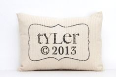 Hey, I found this really awesome Etsy listing at https://www.etsy.com/listing/127880814/personalized-pillow-baby-pillow-childs