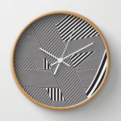 striped-wall-clock