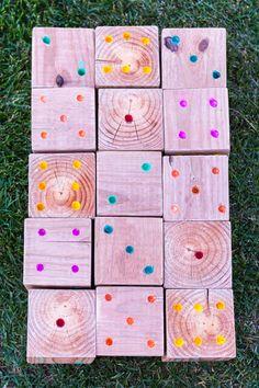 Yard Yahtzee: Perfect Family Game | Design Mom
